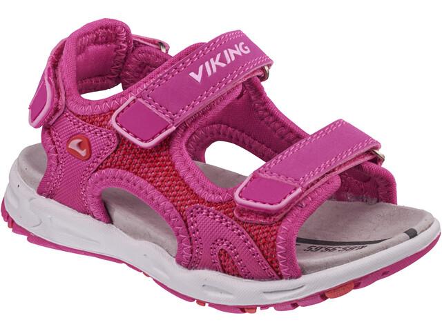 Viking Footwear Anchor II Sandaalit Lapset, magenta/red